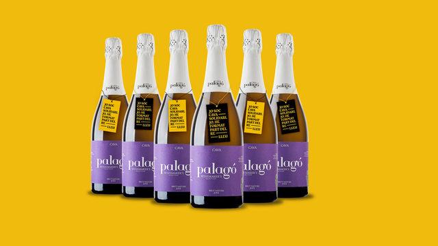 6 ampolles de Cava Solidari Palagó