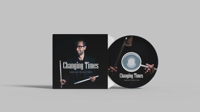 CD +Masterclass de Batería e improvisación Presencial