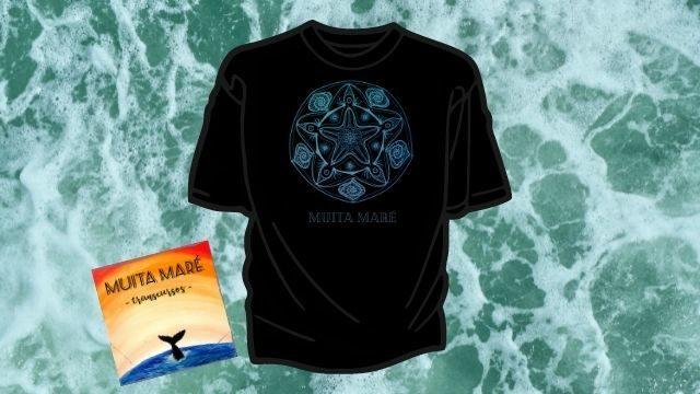 CD y camiseta