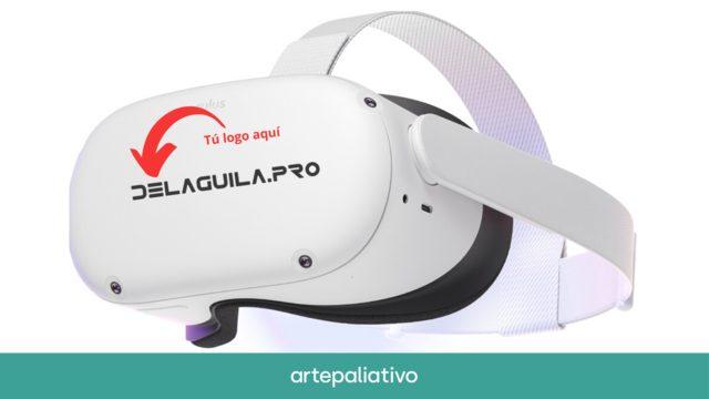 Patrocina Nuestras gafas VR con el logotipo de tu empresa