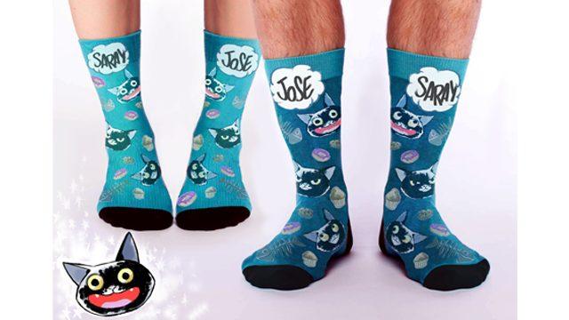 El AMOR no tiene género; comparte calcetines