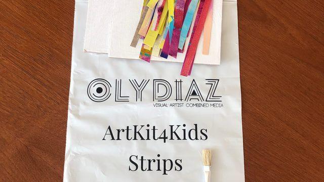 2 Sobres ART KIT FOR KIDS Envío a Europa