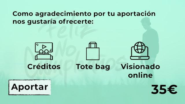 CRÉDITOS + VISIONADO +TOTE BAG