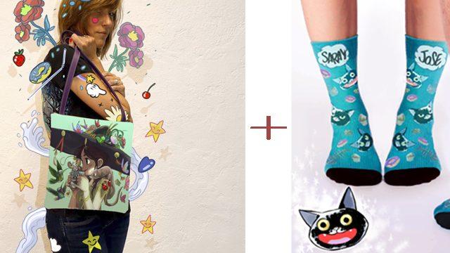 Yo también quiero mis calcetines, así que mis nombres serán Olalla Estelada y mi gato Poison