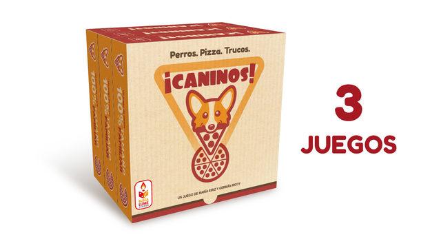 ¡CANINOS! TRIPLE