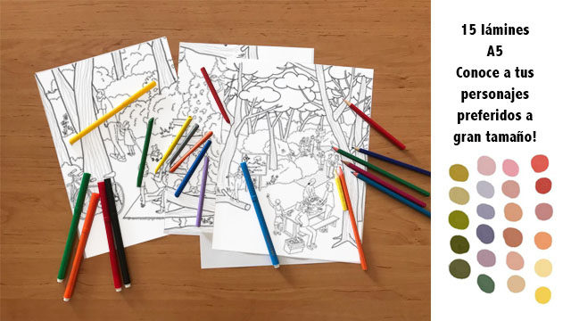 colouring Pack COLOURED