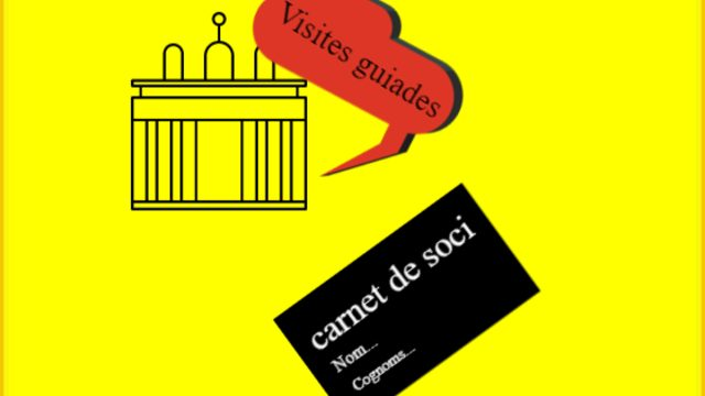 Carnet de soci i visites guiades amb descomptes