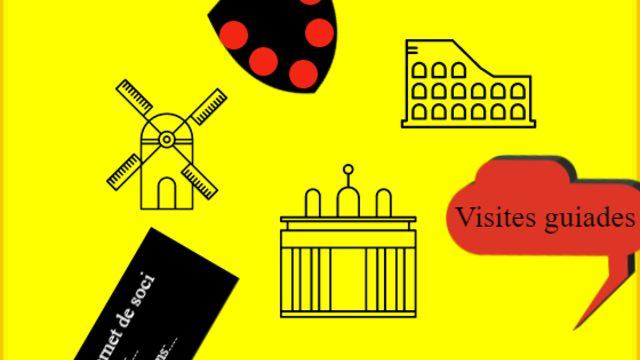 Carnet de soci, descomptes, visites guiades en català a a peu i visites virtuals