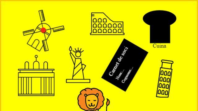 Descomptes, visites guiades gratuites, lliço de cuina i italiana i souvenirs