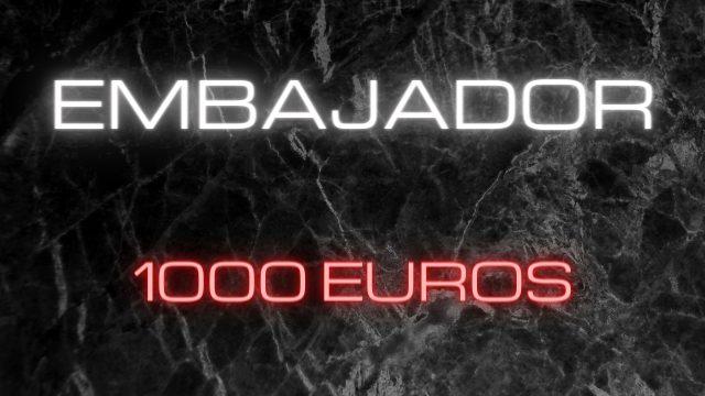 ¿Qué recompensa recibes por 1000€?