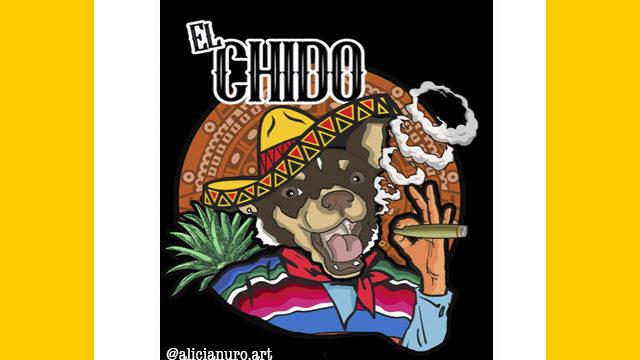 STICKERS EL CHIDO