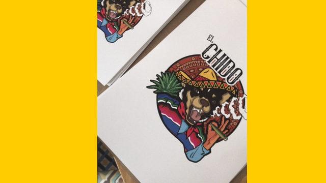 STICKERS + LÁMINA EL CHIDO