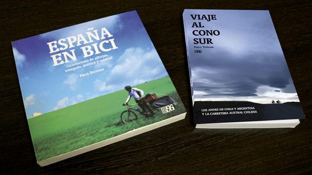 Libro dedicado + España en bici + Agradecimiento