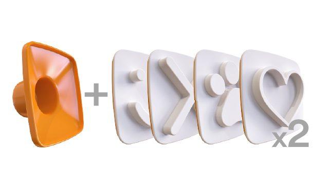 2X Happy Toast 4 PACK -