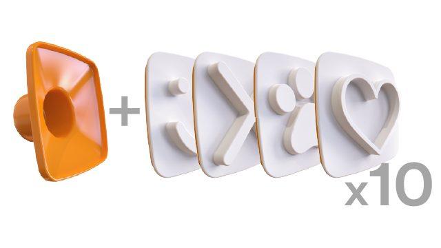 10X Happy Toast 4 - Pack 🙂