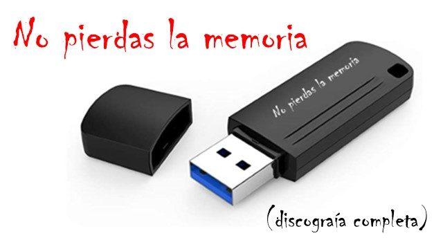 No pierdas la memoria.