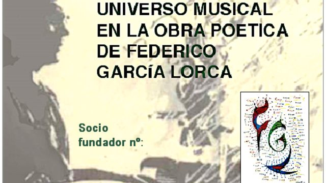 """Socio/a fundador/a de la WEB: """"UNIVERSO MUSICAL EN LA OBRA POÉTICA DE FEDERICO GARCÍA LORCA""""."""