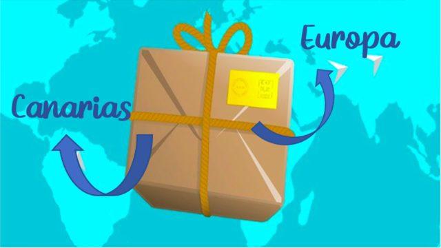 Envío a Europa y Canarias.