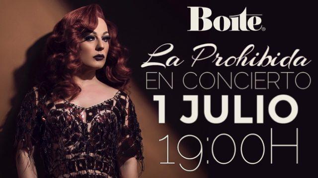 CONCIERTO en BOITE - 1 JULIO -19:00H