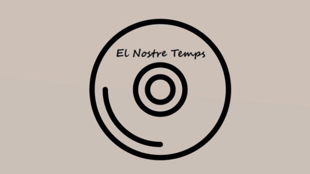 """1 CD album of """"El Nostre Temps"""".  Thanks in social networks."""