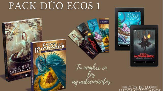 Pack dúo «ecos» 1: 40€