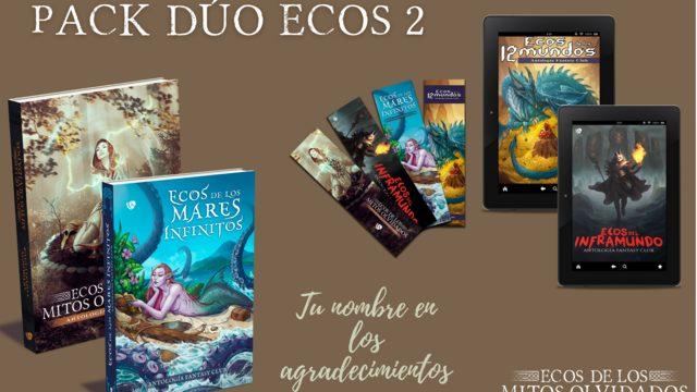Pack dúo «ecos» 2: 40€