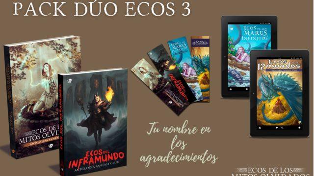 Pack dúo «ecos» 3: 40€