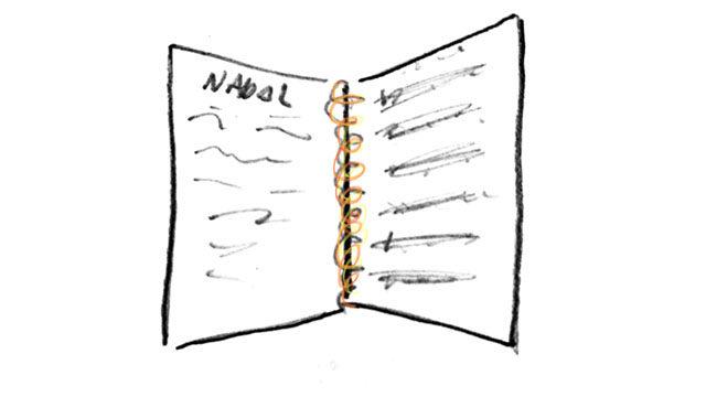 Handwritten songbook
