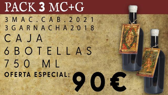 PACK 3 MC+G