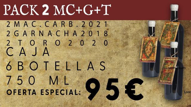 PACK 2 MC+G+T