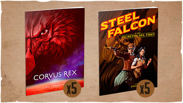 [ADD-ON] 5 X Steel Falcon + 5 X Corvus Rex (solo tiendas; 50% de rebaja sobre el PVP)