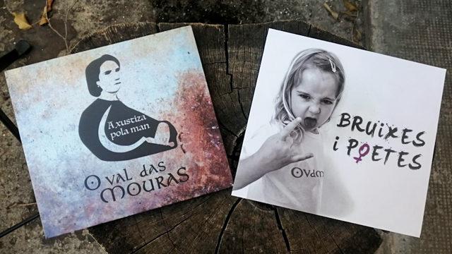 CD 'Bruixes i poetes' + CD 'A xustiza pola man' (2017)