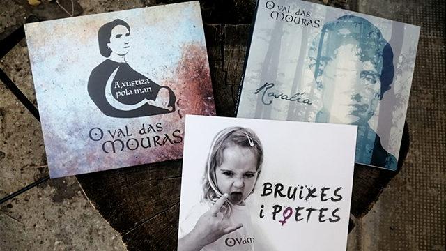 Discografía completa de O Val das Mouras: 'Bruixes i poetes' (2021) + 'A xustiza pola man' (2017) + 'Rosalía' (2015)