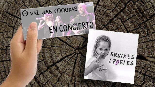 Entrada al concierto de presentación + CD 'Bruixes i poetes'