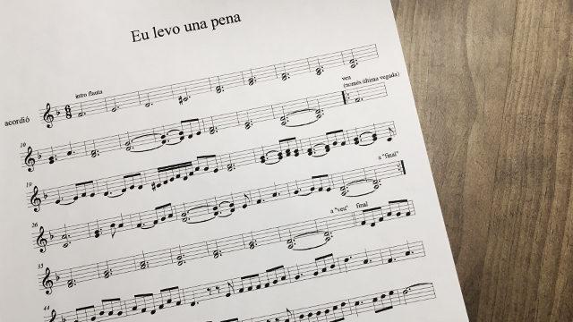 Clase individual de guitarra, violonchelo, flauta o percusión tradicional gallega