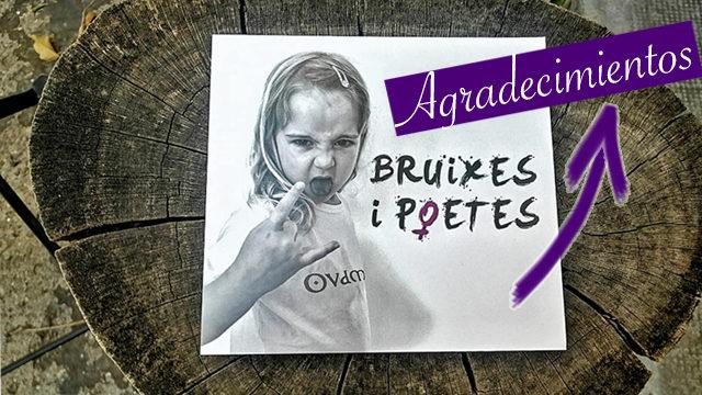 Disco 'Bruixes i poetes' + mención en los agradecimientos