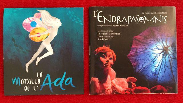 "PACK 2 CDs ""L'ENDRAPASOMNIS I LA MOTXILLA"""