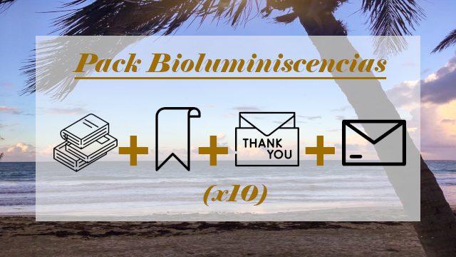 Pack BIOLUMINISCENCIAS (Club de lectura, asociaciones, librerías)