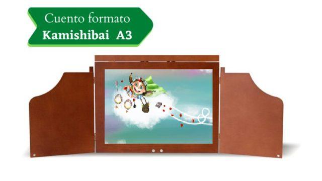 Láminas del cuento para Kamishibai A3