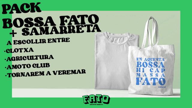 PACK BOSSA FATO + SAMARRETA A ESCOLLIR