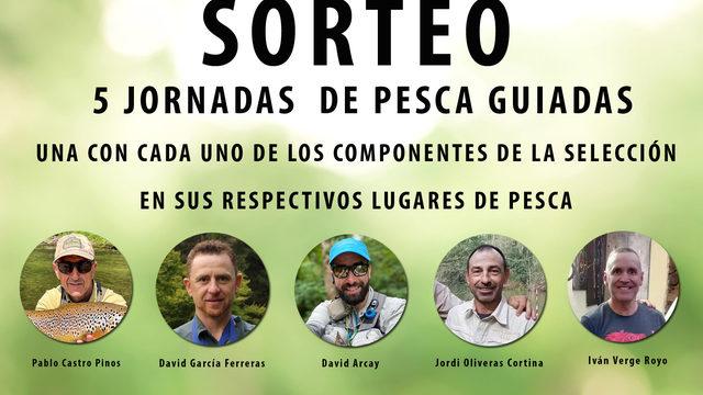 SORTEO DE 5 JORNADAS DE PESCA GUIADAS + DESCARGA DEL DOCUMENTAL