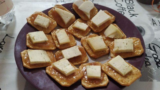 Tastets de formatge a domicili per a 4-6 persones