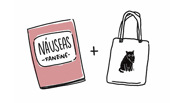 1 Fanzine + Agradecimientos + Bolsa de tela (Envío a España)