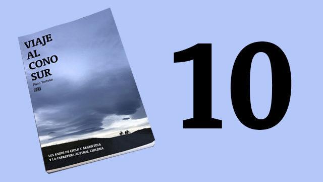 10 libros + Agradecimiento en los créditos