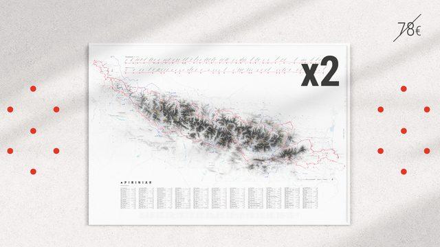 x2 Mapa Bicicleta