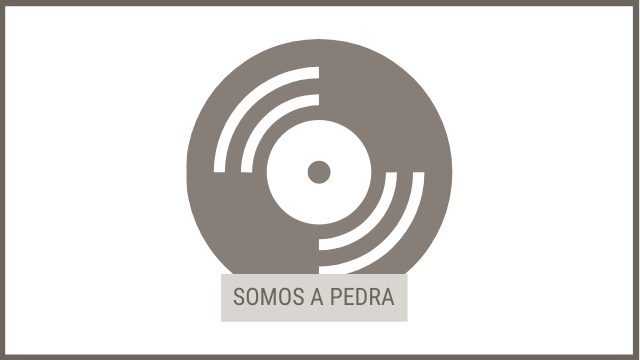 """CD """"SOMOS A PEDRA"""""""
