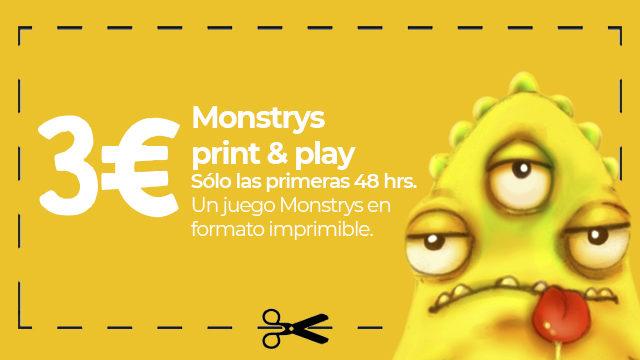 Monstrys print&play