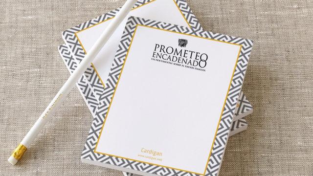 Visionado Online + Agradecimientos + Postal + Taza + Cuaderno.