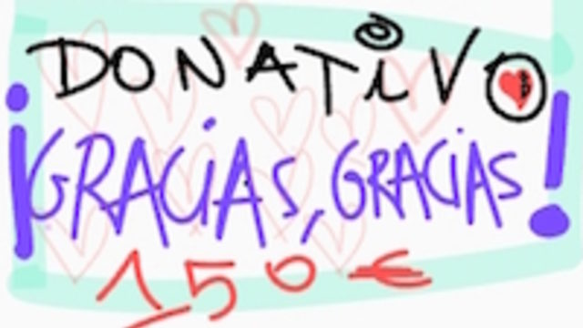 """DONATION """"THANK YOU! THANK YOU!"""""""