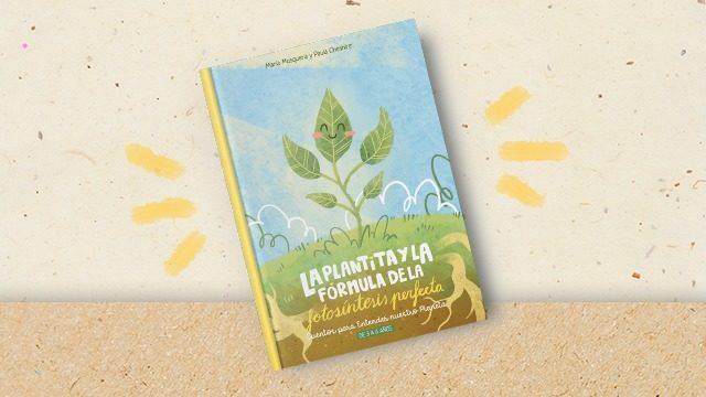 La plantita y la fórmula de la fotosíntesis perfecta en papel (ES)